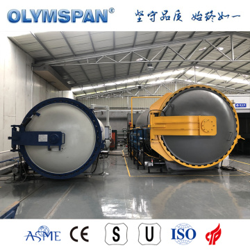 ASME standard small fiber glass bonding autoclave