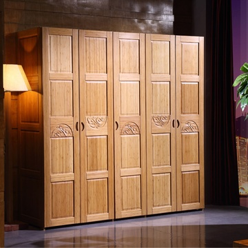 Eco-friendly Bamboo Wardrobe