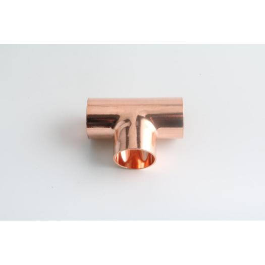 Copper socket weld tee fitting for water system