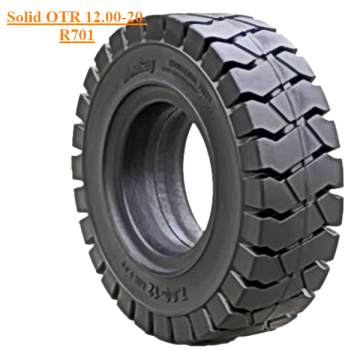 Industrial  SANY Loader Solid Tire 12.00-20 R701