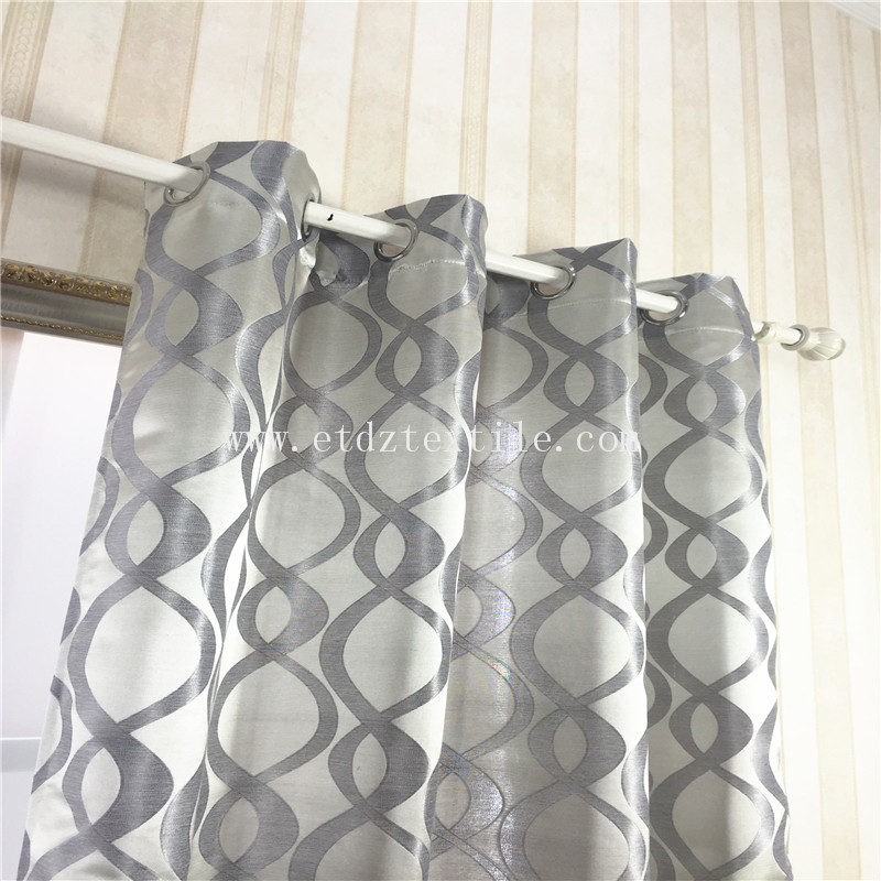 SILVER COLOR CURTAIN