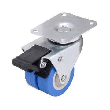 2 Inch swivel Twin Wheel Caster