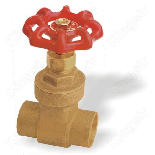 Dica type Brass Gate Valves With Solder Ends