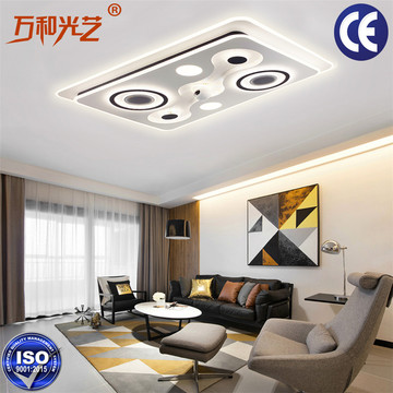 Smart  Remote Alarm Parlor Dimmable Ceiling Light