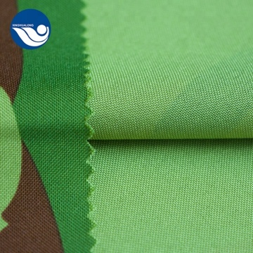 Digital Print Green And Black Mini Matt Fabric