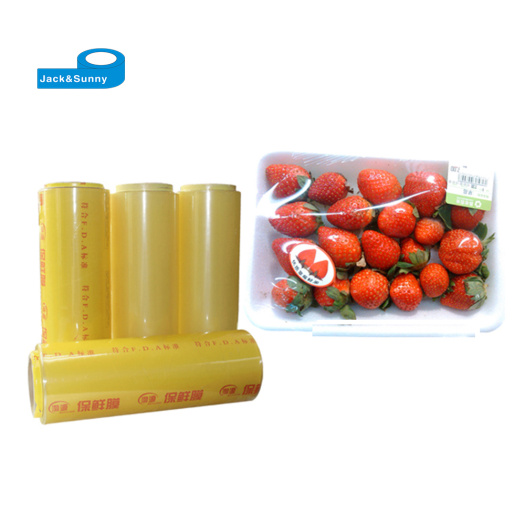 PVC Packing Film for Food Wrap