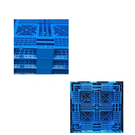 Six Runner Bottom Support Plastic Pallet Mould