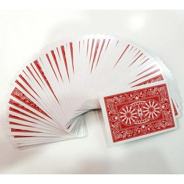 Custom playing card paper