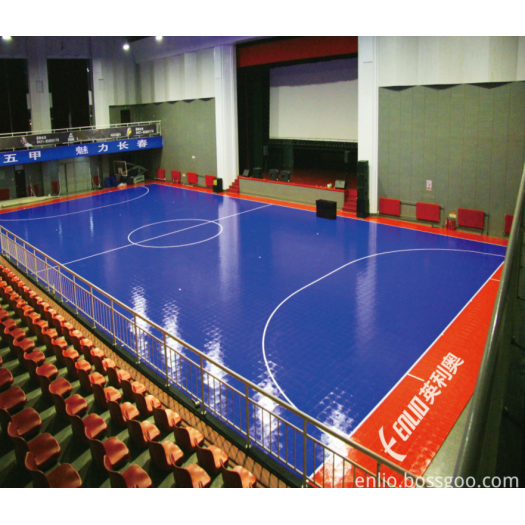 Futsal Interlocking Court Tiles Durable Sports Flooring