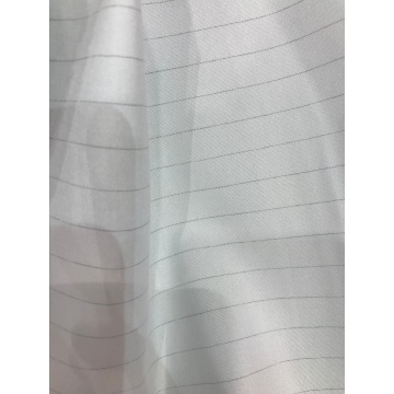 Polyester Carbon Fiber 1cm Stripe Fabric