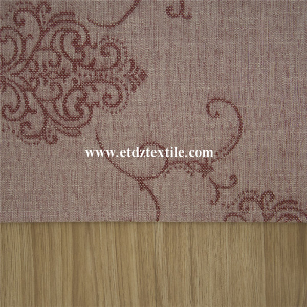 100% Polyester Jacquard Curtain Fabric