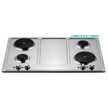 High Efficiency Portable 4 Burners Electric Cooktop