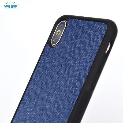 Custom Leather Cell Phone Case for Iphone X