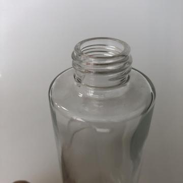 130ml tall column glass bottle