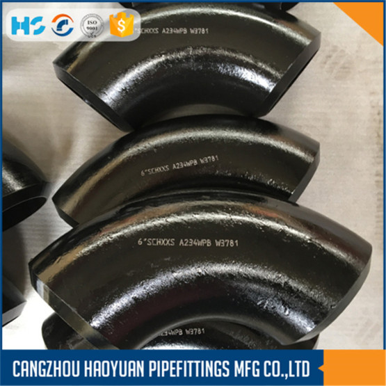A234 Schedule 80 Steel Pipe Fittings Elbow