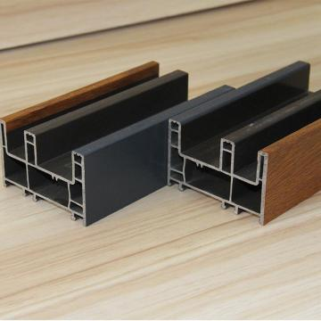 Three Tracks PVC Profiles for Windows and Doors