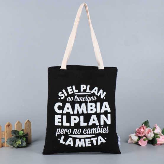 Custom Eco plain tote reusable canvas bag