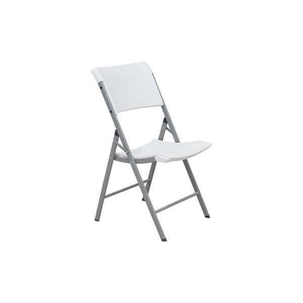 Good Sale Outdoor Folding Plastic Dining Chair White