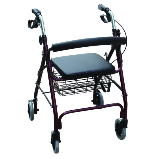 Mobility Care Four Wheeled Rollator