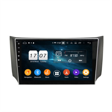 car dvd player touch screen for Sylphy 2012-2015
