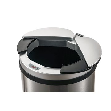Ninestars 49 Liters Infrared Stainless Steel Material Sensor Dustbin for Room