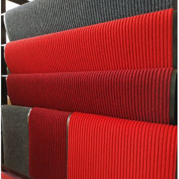 High performance stripes surface floor carpet