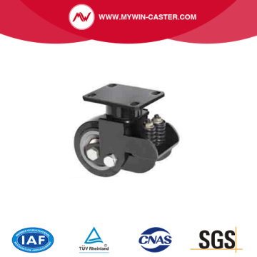 Shock absorbering(Spring) caster wheel