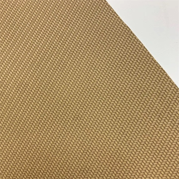Eco-Friendly Plain Weave Leather for Tea Box Package