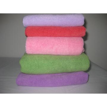 High quality microfiber towel fabric custom