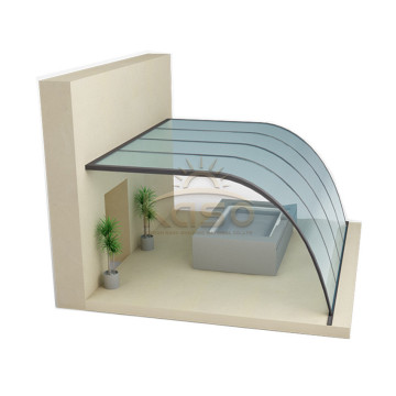 Customized Retractable Sun House Aluminum Sunroom