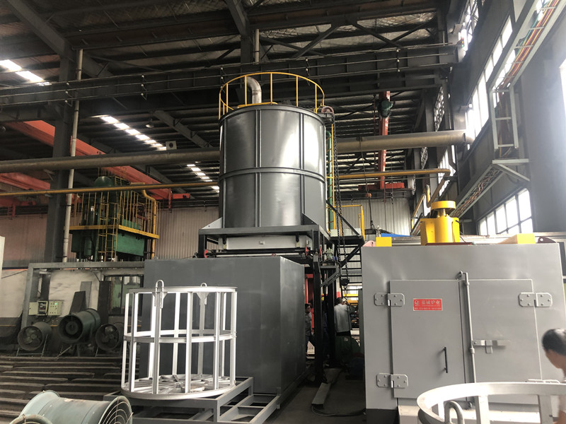Natural gas quenching furnace