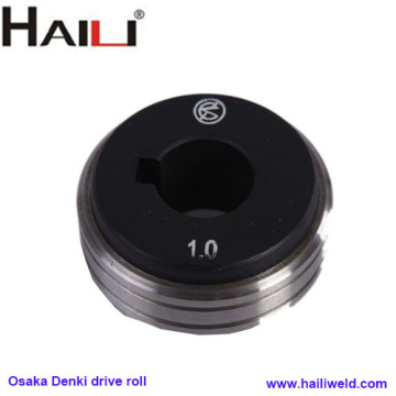 Osaka Denki drive roll for wire feeder