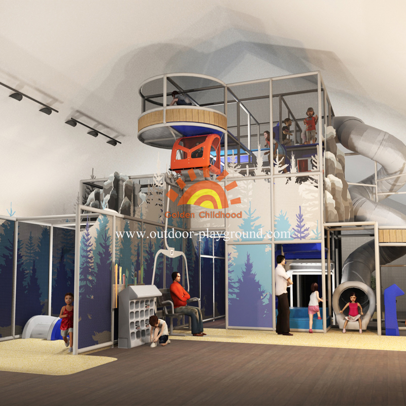Snow Mountain Castle Series Children S Indoor Playground