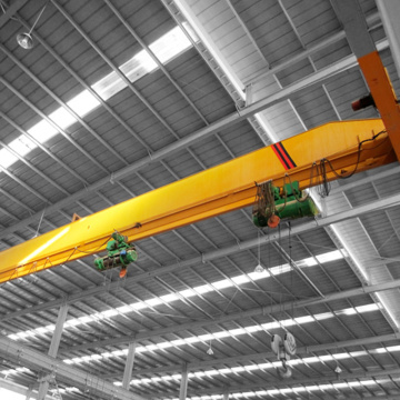 good quality single girder EOT crane design