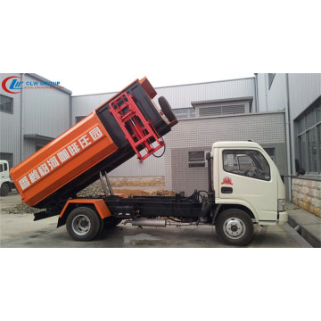 2019 New Dongfeng 5cbm refuse truck side loader