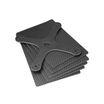 Hobbycarbon CNC cutting carbon fiber plates for drone/toy