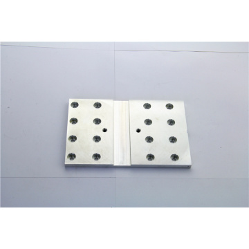 OEM aluminum plate CNC milling machining parts