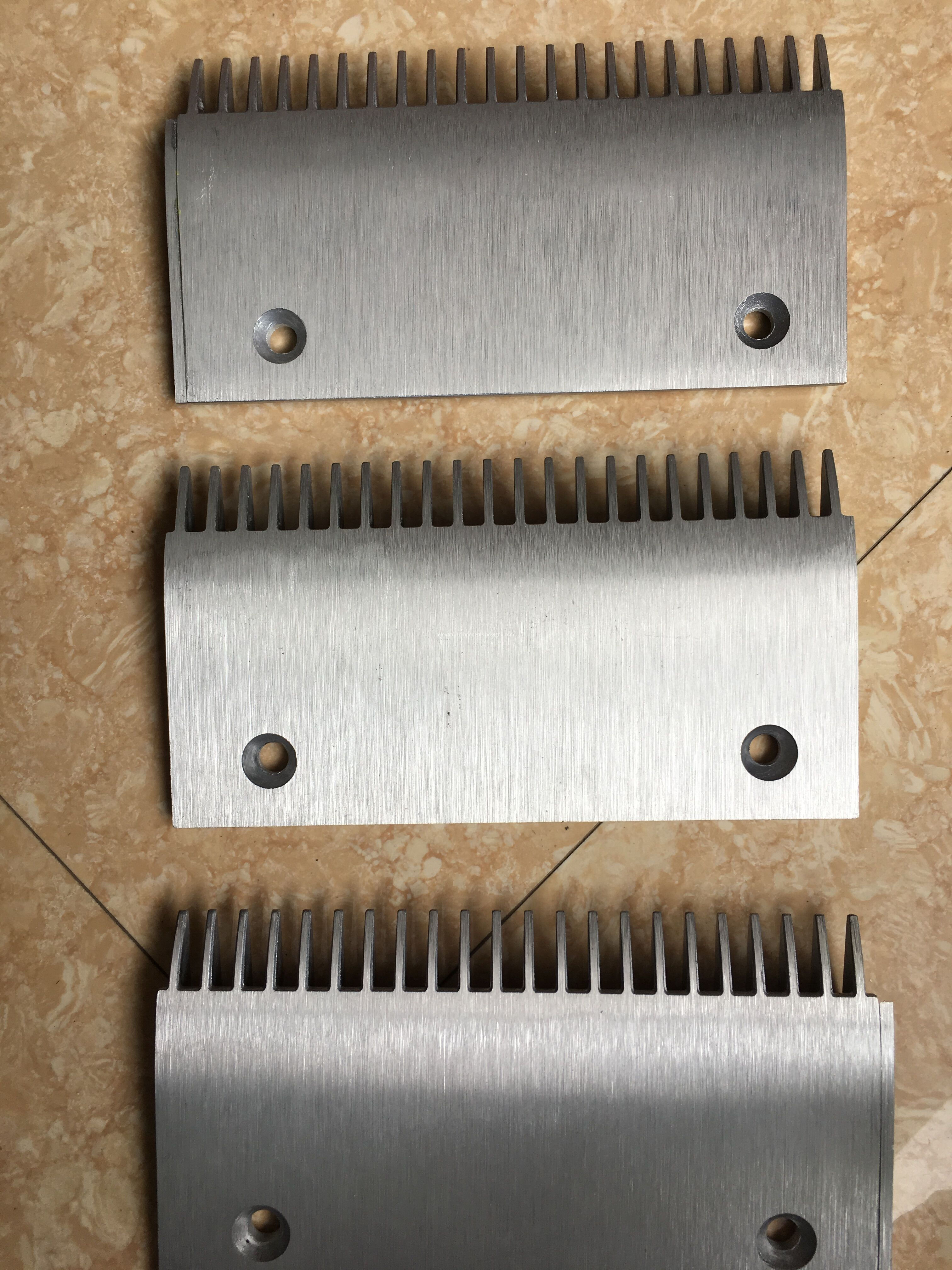 Aluminium Alloy Comb Plate for Schindler 9300 Escalators