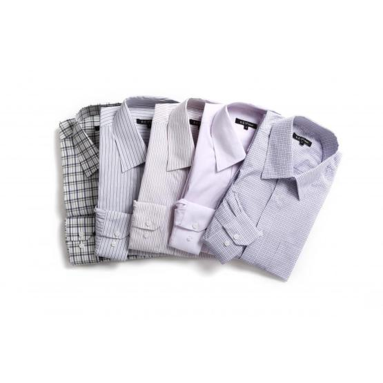 MEN'S FINE COTTON YARN DYE SHIRTS