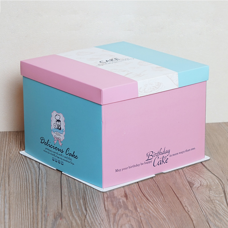 Birthday Cake Box 4
