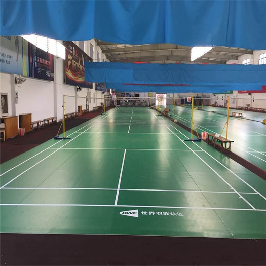 Indoor Sports Surface Badminton Court Matting Green
