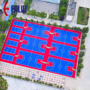 Modular Multi-purpose Sports Flooring Outdoor