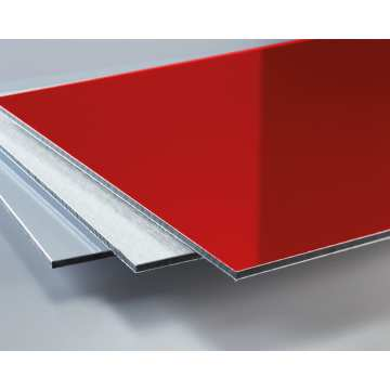 Printable best quality pvdf aluminum composite panel