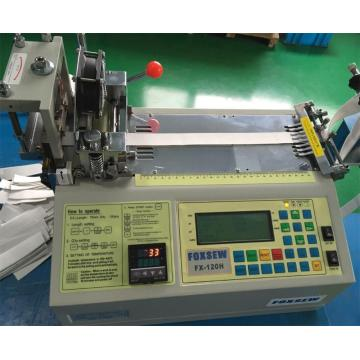 Automatic Hot Knife Polyester Ribbon Cutting Machine