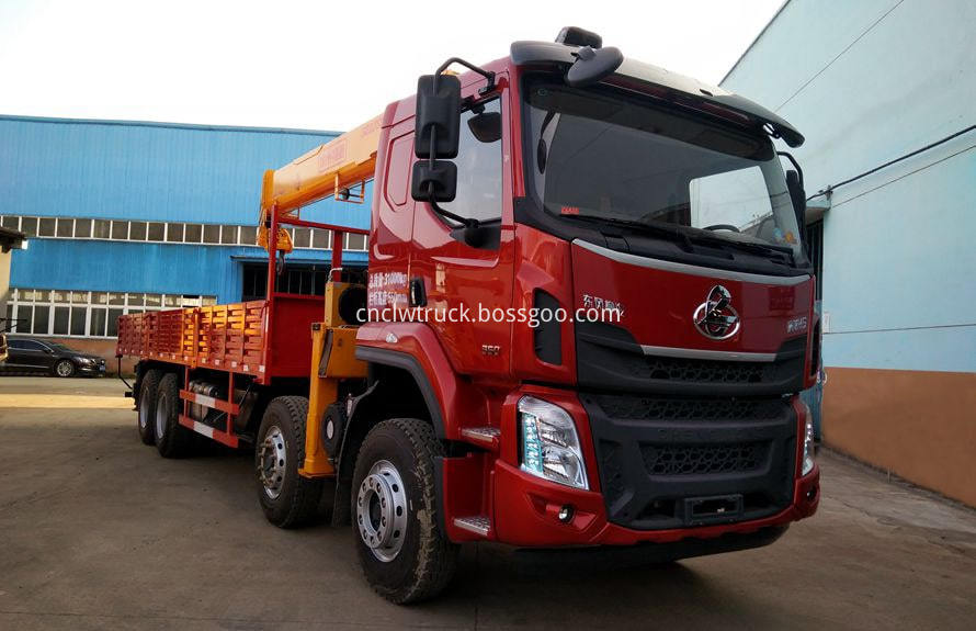 manual truck mounted crane 2