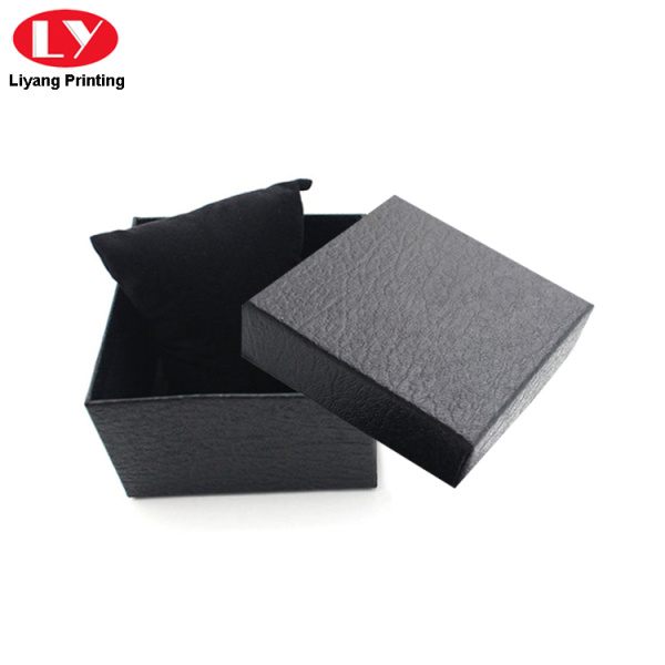 durable watches box with soft pillow insert