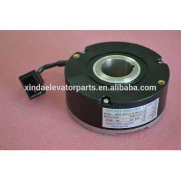 Encoder for geared machine elevator spare part