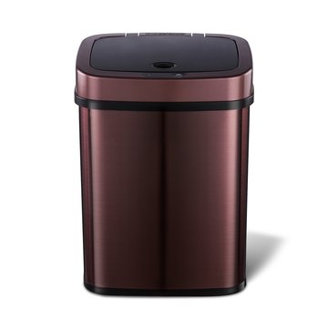 12L Luxury Rose Gold Smart Sensor Trash Can