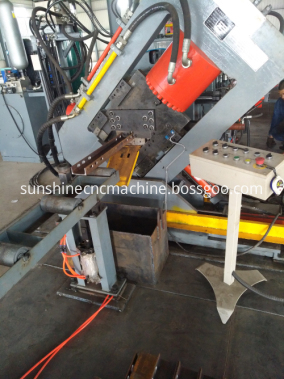 Channel steel Punching Shearing