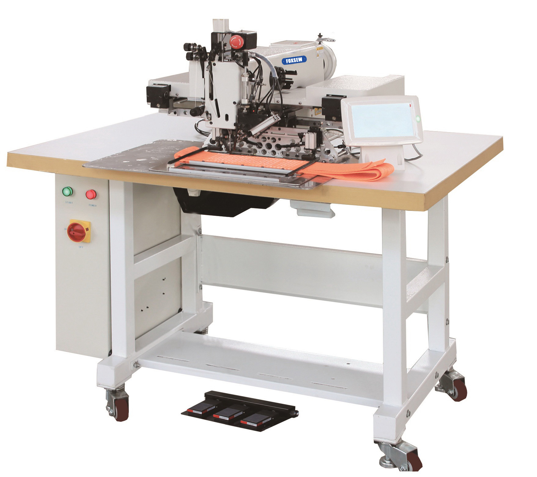 KD-3020H Automatic Programmable Heavy Duty Pattern Sewing Machine